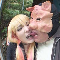 【個撮¥キモ男】サキジマレン【1】ボーイッシュコスプレイヤーと豚 → アニコスSEXと野外SEX