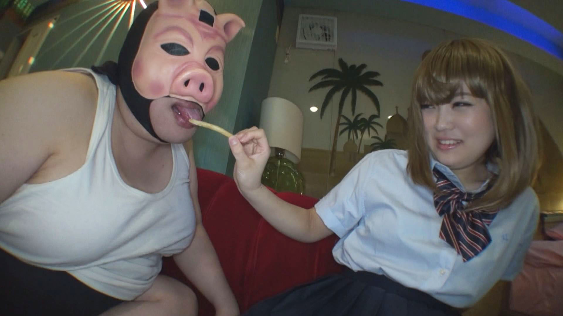 【個撮¥キモ男】ヒナ【1】小さな神待ち娘とキモ豚の体重差100キロSEX!恐怖の妹ごっこ【94分】