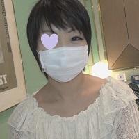 【個人撮影】ユミ24歳 黒髪ショートの女子大生に中出し