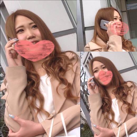【4K】笑顔かわいい美脚キャバ嬢?ちゃん♫♫ぷりっぷりなお尻とサテンオレンジp〇撮